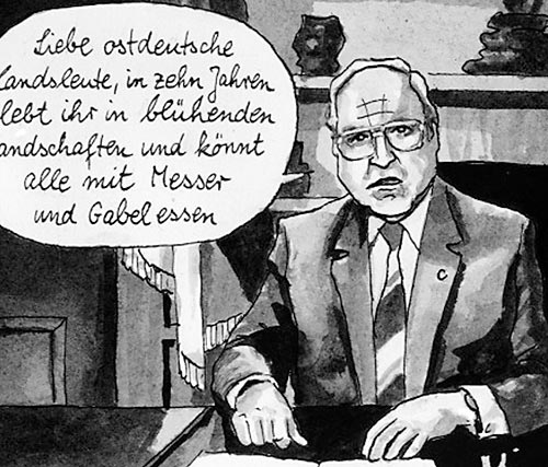 Kanzler Kohl-Satire